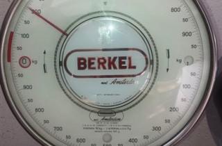 Bilancia Berkel orologio