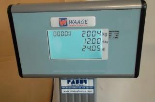 Bilancia da banco Waage