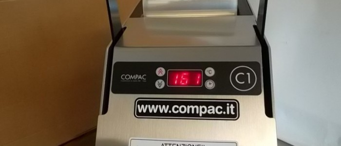 Termosigillatrice Compac C1 INOX