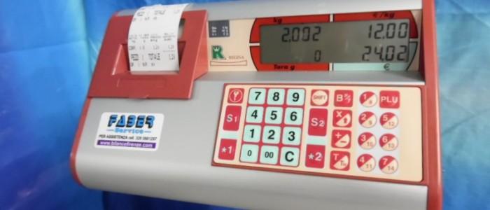 Bilancia da banco usata
